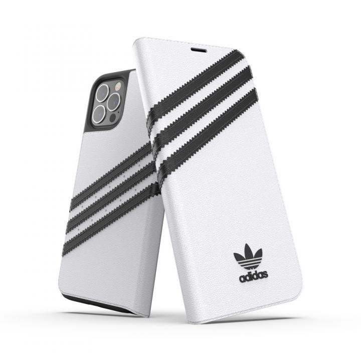 adidas Originals Booklet Case SAMBA FW20 White/Black iPhone 12/iPhone 12 Pro_0