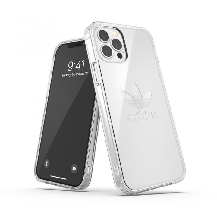 adidas Originals Protective Case FW20 Clear iPhone 12/iPhone 12 Pro【10月下旬】_0