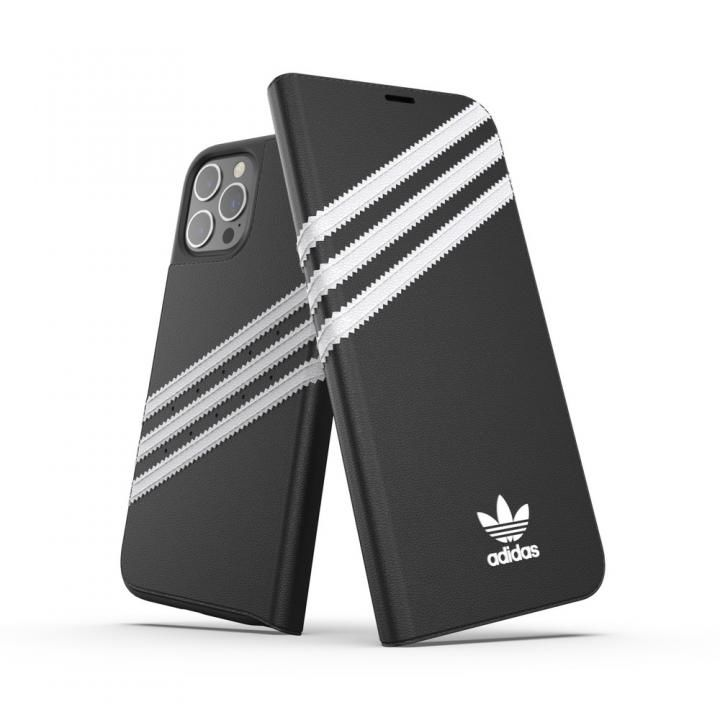 adidas Originals Booklet Case SAMBA FW20 Black/White iPhone 12 Pro Max【10月下旬】_0