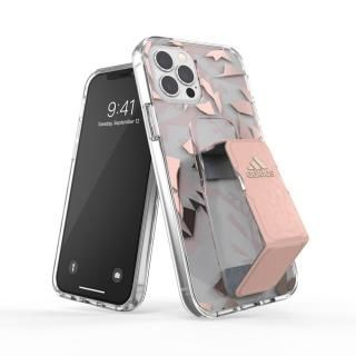 iPhone 12 / iPhone 12 Pro (6.1インチ) ケース adidas SP Clear Grip Case FW20 Pink Tint iPhone 12/iPhone 12 Pro