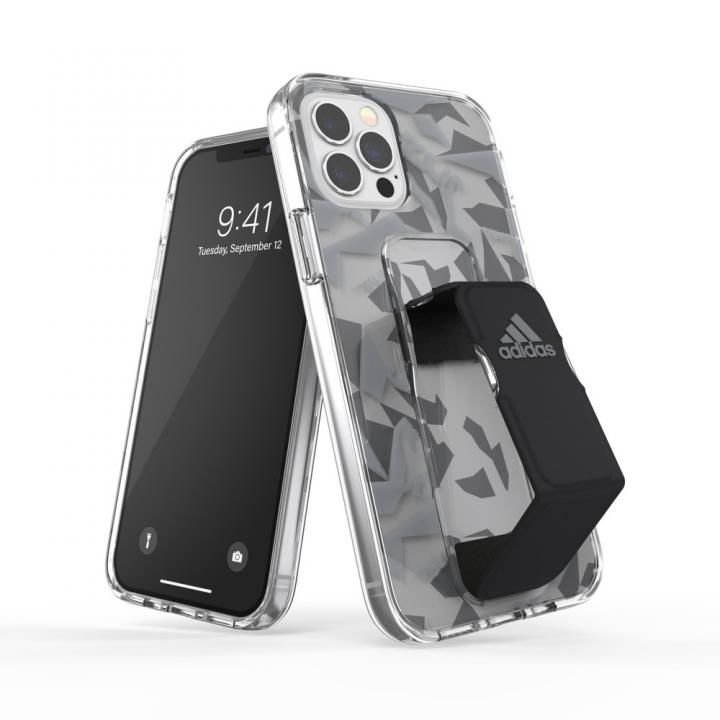 adidas SP Clear Grip Case FW20 Grey/Black iPhone 12/iPhone 12 Pro_0