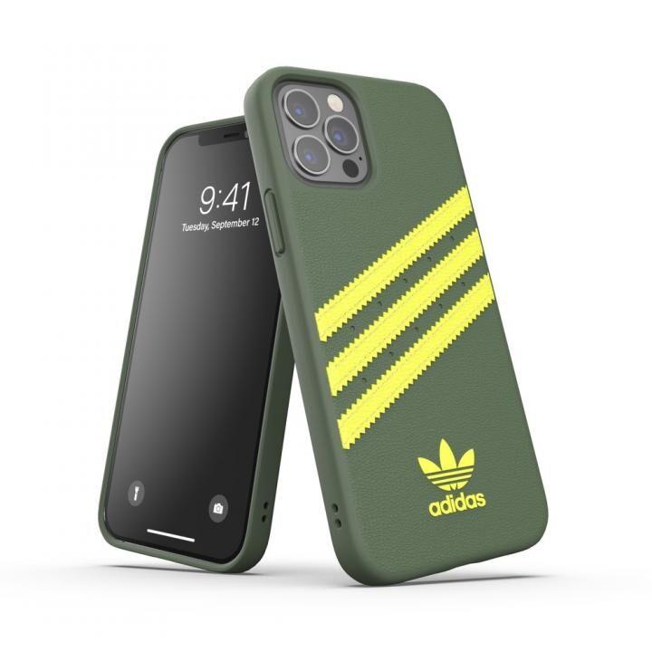 adidas Originals SAMBA FW20 Wild Pine/Acid Yellow iPhone 12/iPhone 12 Pro_0