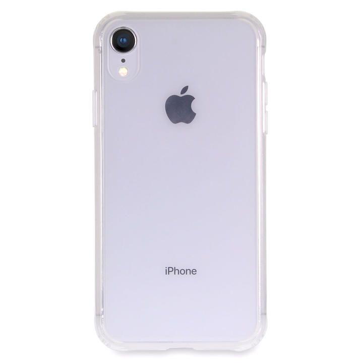 iPhone XR ケース Torrii TPUフレーム強化ガラスケース クリア iPhone XR_0