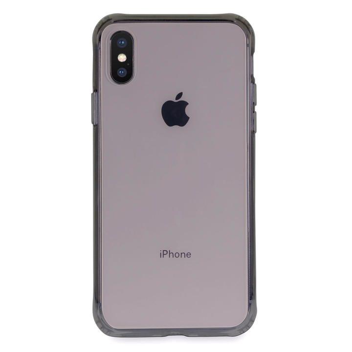 iPhone XS/X ケース Torrii TPUフレーム強化ガラスケース スモーク iPhone XS/X_0