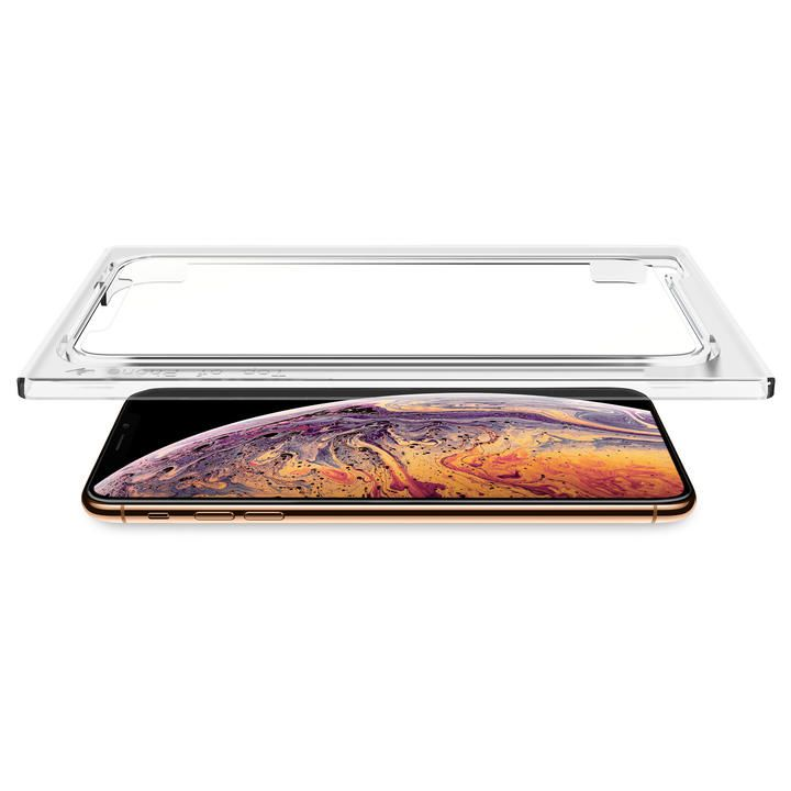 iPhone XS Max フィルム Torrii 強化ガラス 貼り付けキット付 ノーマル iPhone XS Max_0
