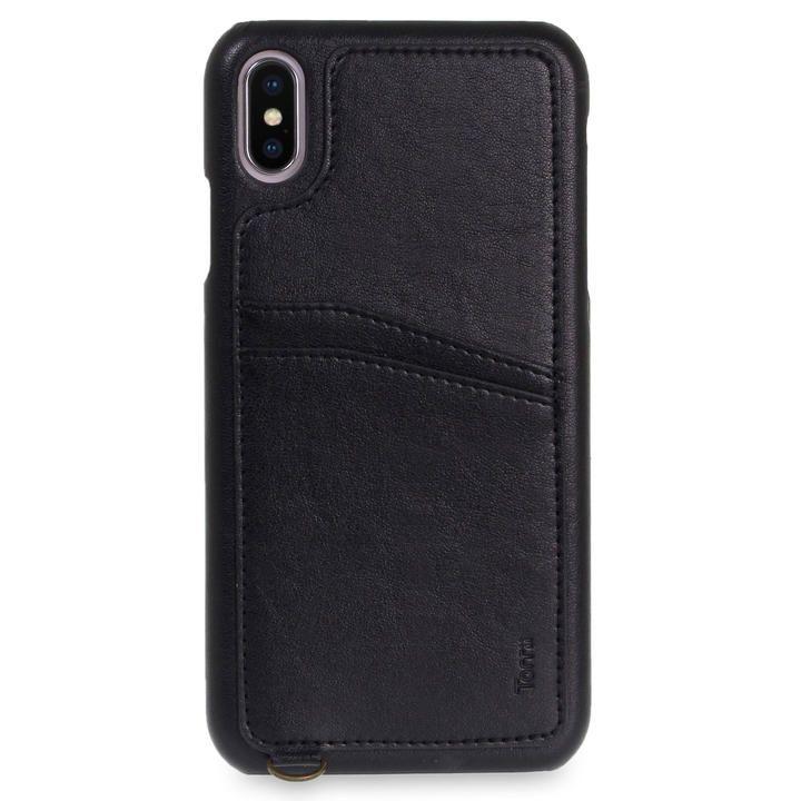 iPhone XS Max ケース Torrii  KOALA カードポケット付きケース ストラップ付き ブラック iPhone XS Max_0