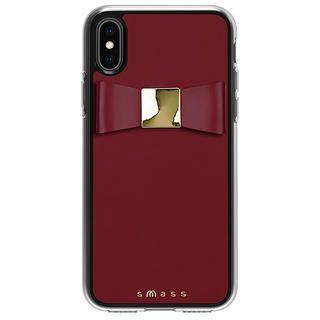iPhone XS/X ケース Athand Rebon 本革 デザインケース ブラック iPhone XS/X