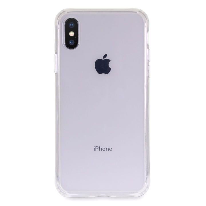 iPhone XS/X ケース Torrii TPUフレーム強化ガラスケース クリア iPhone XS/X_0