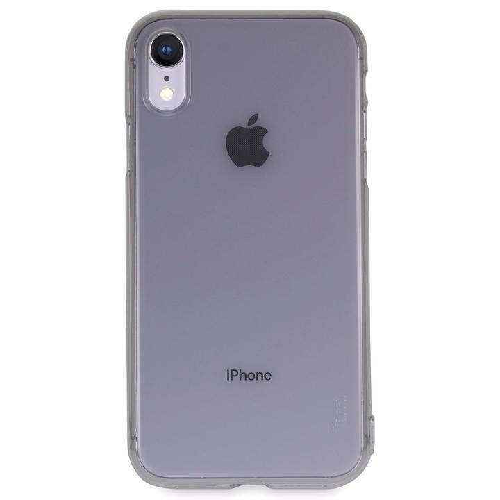 iPhone XR ケース Torrii Anti Finger Print Case クリアケース ブラック iPhone XR_0