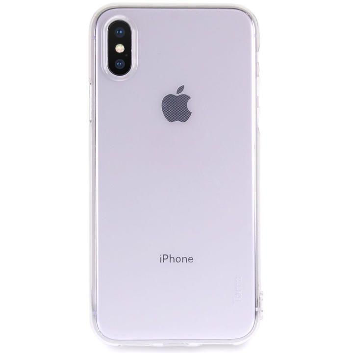 iPhone XS/X ケース Torrii Anti Finger Print Case クリアケース クリア iPhone XS/X_0