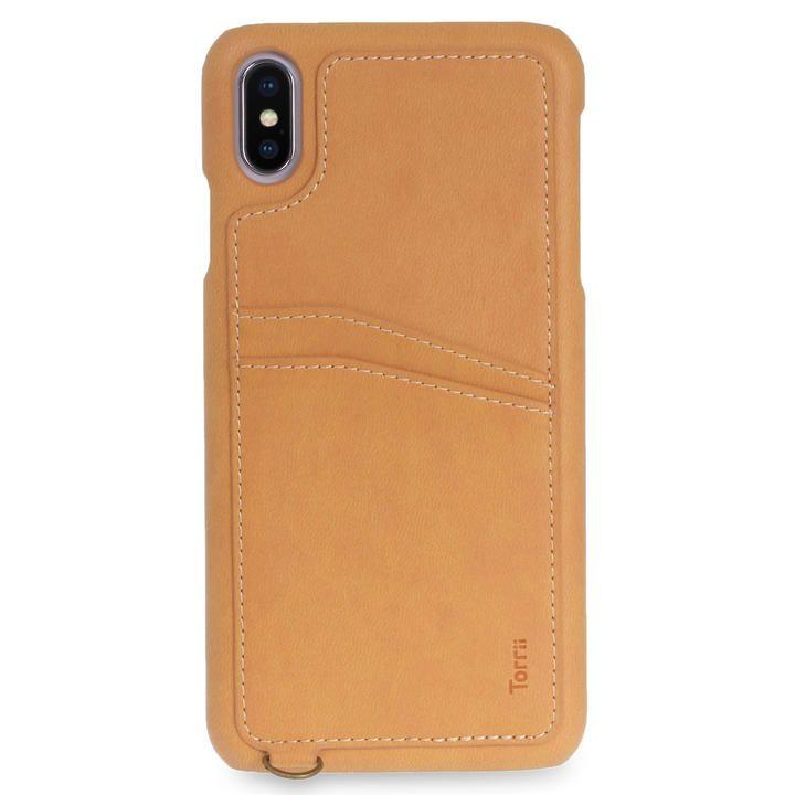 iPhone XS Max ケース Torrii  KOALA カードポケット付きケース ストラップ付き ブラウン iPhone XS Max_0