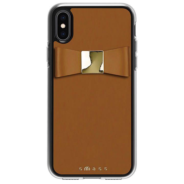 iPhone XS/X ケース Athand Rebon 本革 デザインケース タン iPhone XS/X_0