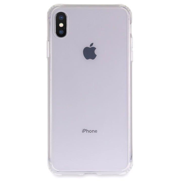iPhone XS Max ケース Torrii TPUフレーム強化ガラスケース クリア iPhone XS Max_0