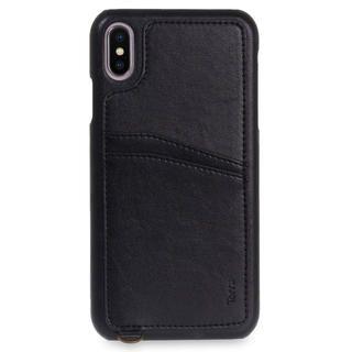 iPhone XS Max ケース Torrii  KOALA カードポケット付きケース ストラップ付き ブラック iPhone XS Max