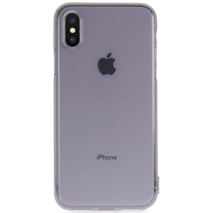 iPhone XS/X ケース Torrii Anti Finger Print Case クリアケース ブラック iPhone XS/X_0