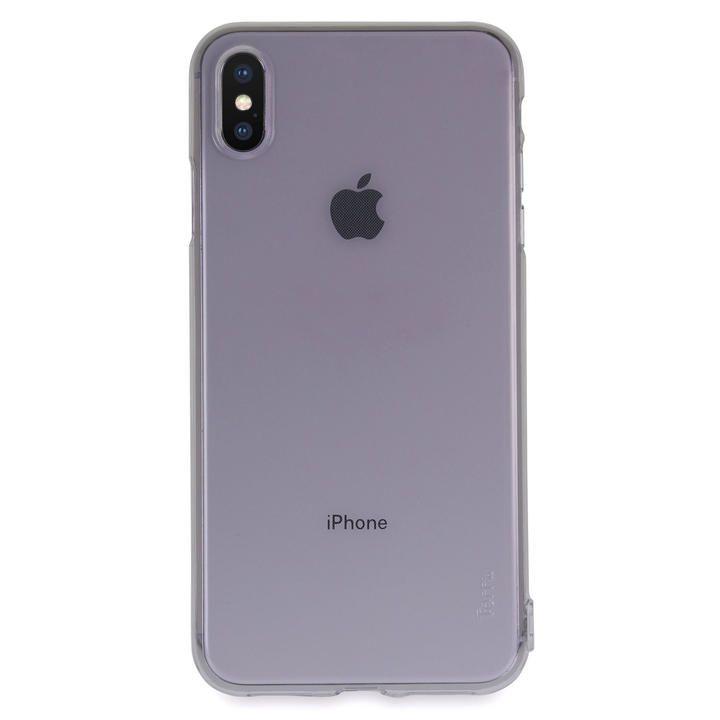 iPhone XS Max ケース Torrii Anti Finger Print Case クリアケース ブラック iPhone XS Max_0