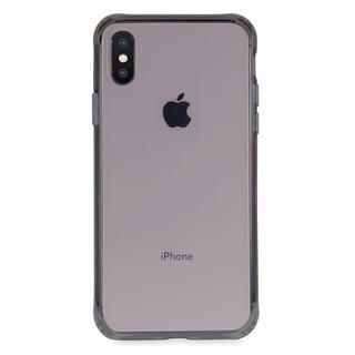 iPhone XS/X ケース Torrii TPUフレーム強化ガラスケース スモーク iPhone XS/X