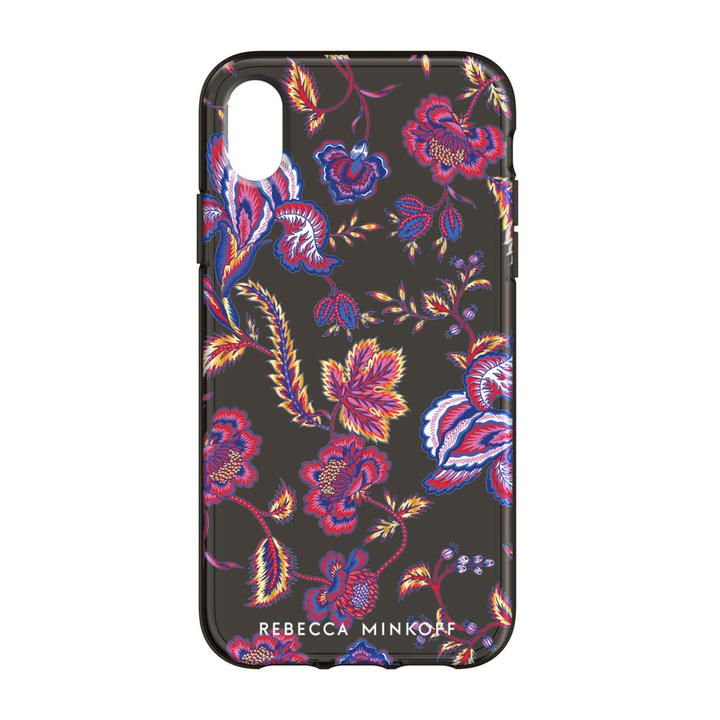 iPhone XR ケース Rebecca Minkoff Be Flexible 背面ケース HYPNOTIC FLORAL iPhone XR_0