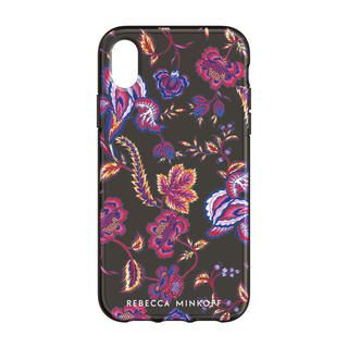 iPhone XS/X ケース Rebecca Minkoff Be Flexible 背面ケース HYPNOTIC FLORAL iPhone XS/X