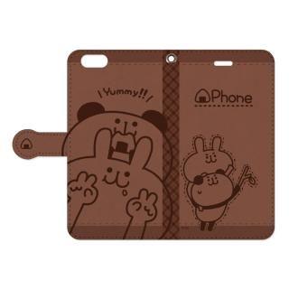 my作「うさぎとパンダ」の手帳型iPhone 6s Plus/6 Plus用ケース【11月中旬】