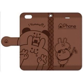my作「うさぎとパンダ」の手帳型iPhone 6s/6用ケース【11月中旬】