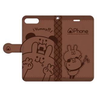 my作「うさぎとパンダ」の手帳型iPhone 8 Plus/7 Plus用ケース【11月中旬】