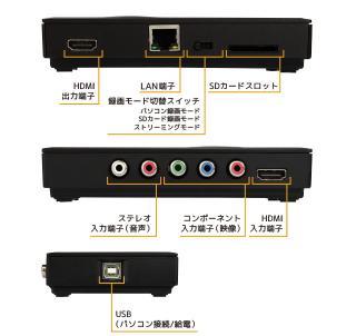 LAN対応 HDゲームキャプチャーボックス_2