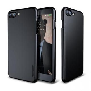 メタルライン風ハードケース META SLIM ジェットブラック iPhone 7 Plus
