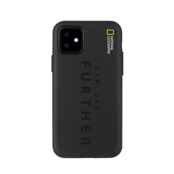 National Geographic Explore Further Edition Soft Case Black  iPhone 12 mini【11月下旬】_0