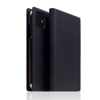 iPhone 12 / iPhone 12 Pro (6.1インチ) ケース SLG Design carbon leather case Black iPhone 12/iPhone 12 Pro