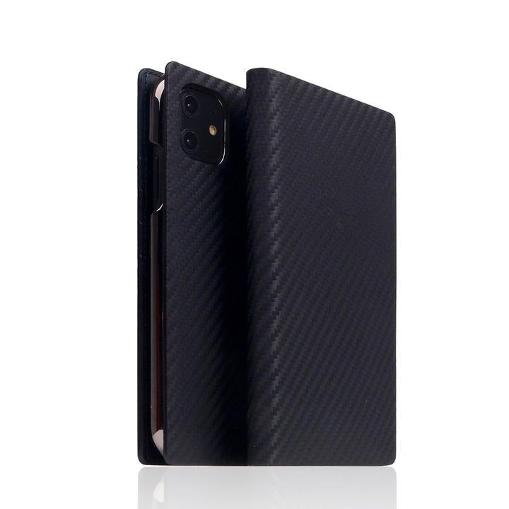 SLG Design carbon leather case Black iPhone 12 mini_0