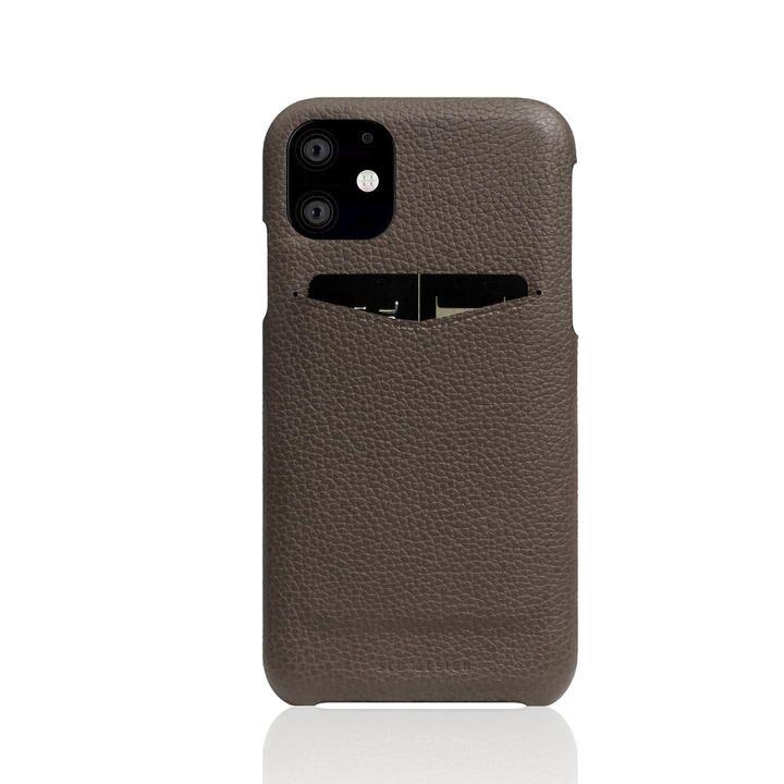 SLG Design Full Grain Leather Back Case etoffe Cream iPhone 12 mini_0