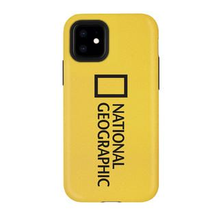 iPhone 12 / iPhone 12 Pro (6.1インチ) ケース National Geographic Sandy Case Big Logo Yellow iPhone 12/iPhone 12 Pro【11月下旬】