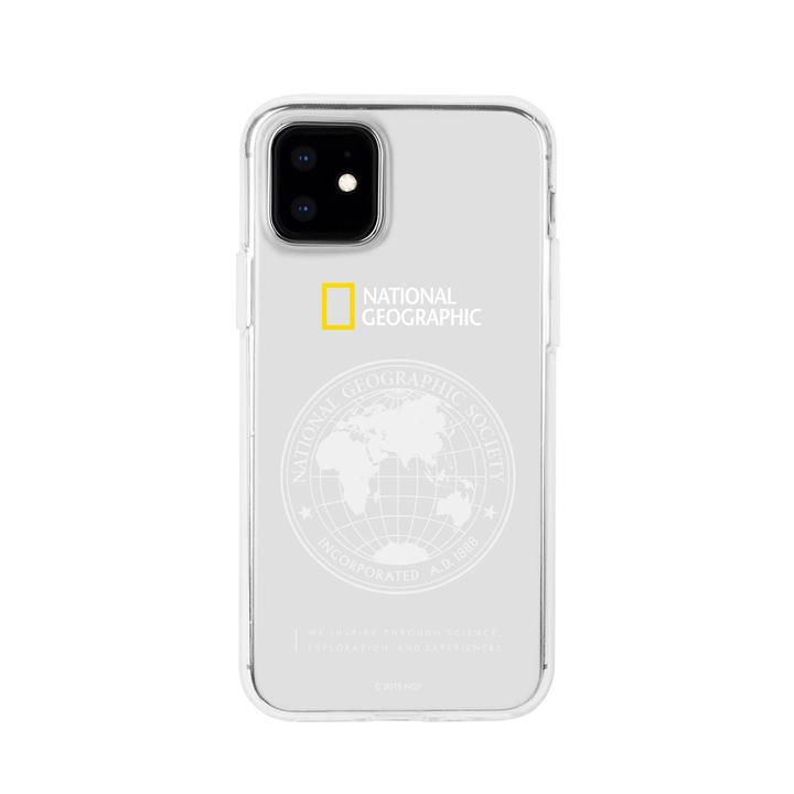 National Geographic Global Seal JellHard Case  iPhone 12 mini【11月下旬】_0