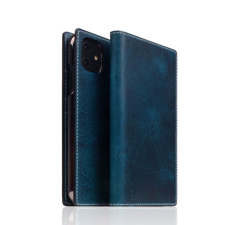 SLG Design Badalassi Wax case グリーン iPhone 12 mini_0