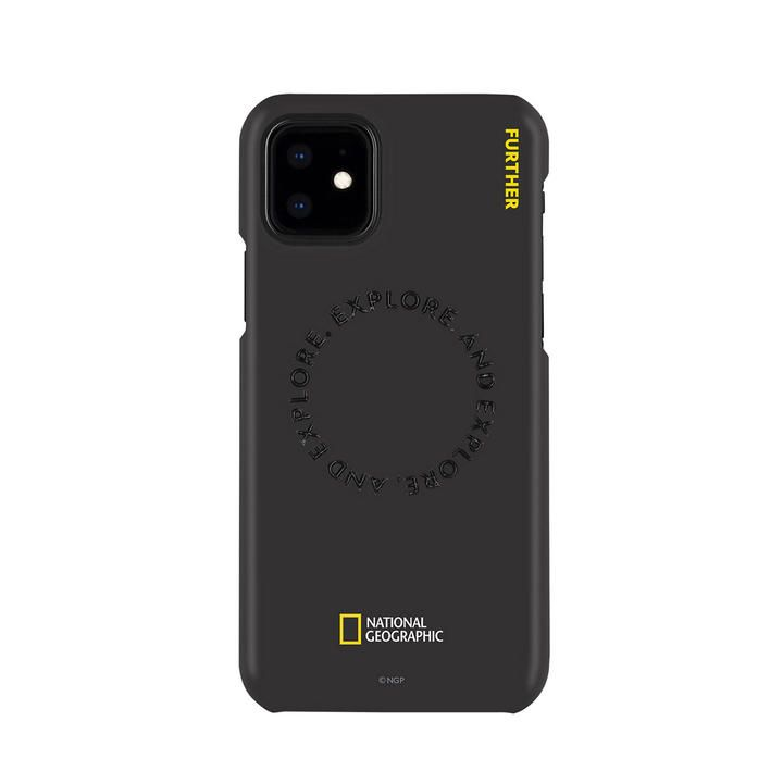 National Geographic Explore Further Edition Slim Fit Case Black  iPhone 12 mini【11月下旬】_0