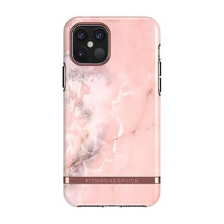 iPhone 12 / iPhone 12 Pro (6.1インチ) ケース Richmond & Finch Pink Marble iPhone 12/iPhone 12 Pro