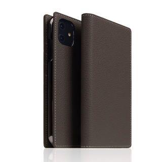 iPhone 12 / iPhone 12 Pro (6.1インチ) ケース SLG Design Full Grain Leather Case Brown Cream iPhone 12/iPhone 12 Pro