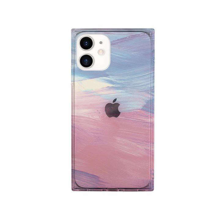 AKAN ソフトスクウェアケース PINK pastel iPhone 12 mini_0