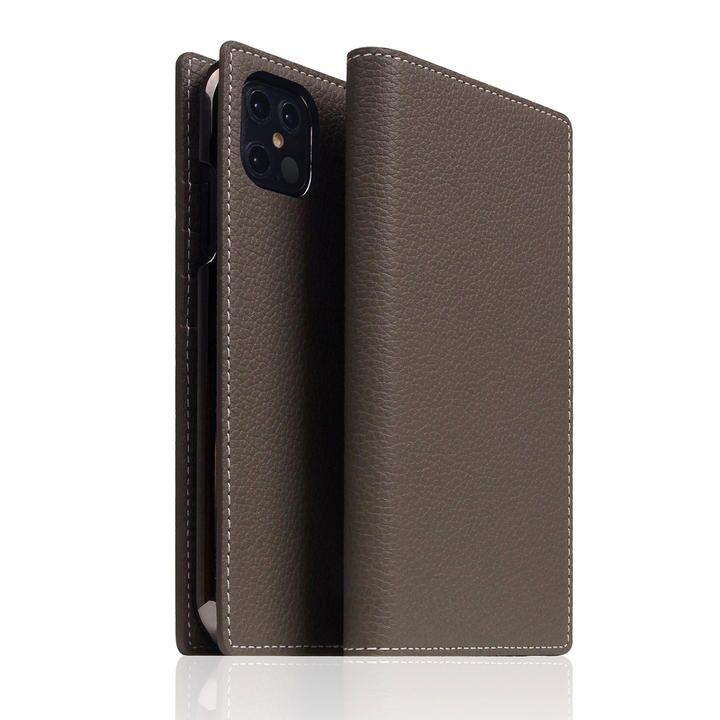 SLG Design Full Grain Leather Case Etoffe Cream iPhone 12 Pro Max【11月下旬】_0