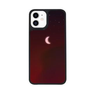 iPhone 12 mini (5.4インチ) ケース Dparks Twinkle cover ミニムーン Red iPhone 12 mini【11月下旬】