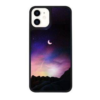 iPhone 12 / iPhone 12 Pro (6.1インチ) ケース Dparks Twinkle cover ホシを数える夜 Pink iPhone 12/iPhone 12 Pro