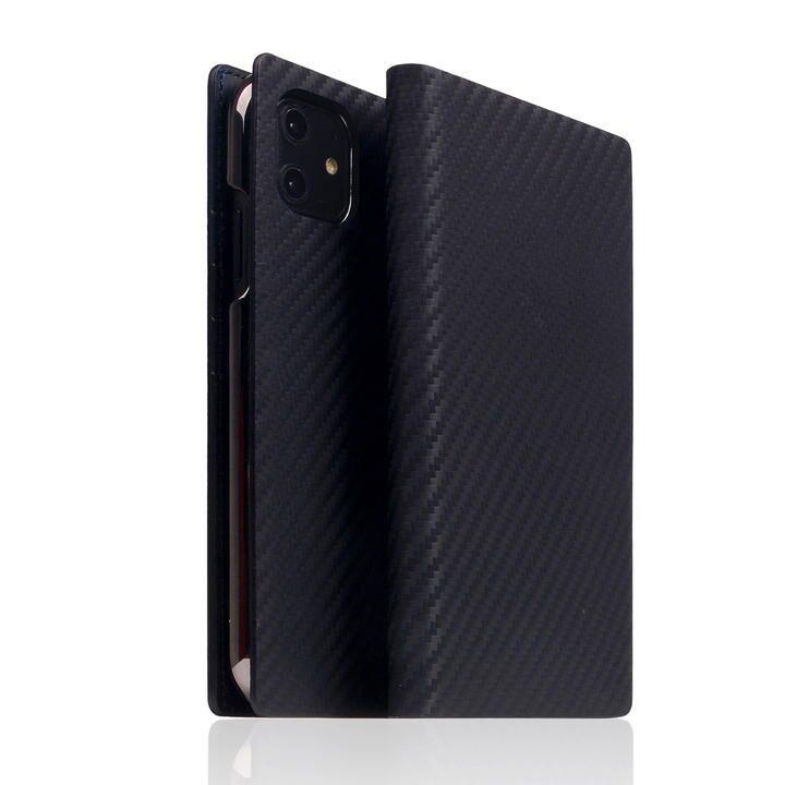 SLG Design carbon leather case Black iPhone 12/iPhone 12 Pro_0