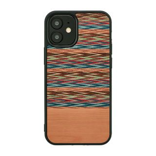 iPhone 12 / iPhone 12 Pro (6.1インチ) ケース Man & Wood 天然木ケース Browny Check iPhone 12/iPhone 12 Pro