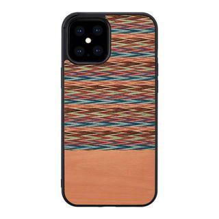 iPhone 12 Pro Max (6.7インチ) ケース Man & Wood 天然木ケース Browny Check iPhone 12 Pro Max