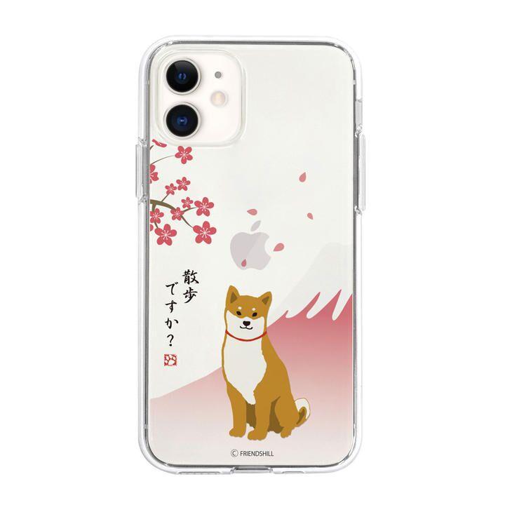 abbi FRIENDS しばたさんクリアケース さくら iPhone 12/iPhone 12 Pro【12月上旬】_0