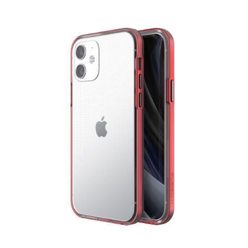 motomo INO Achrome Shield Case Matt red iPhone 12 mini_0