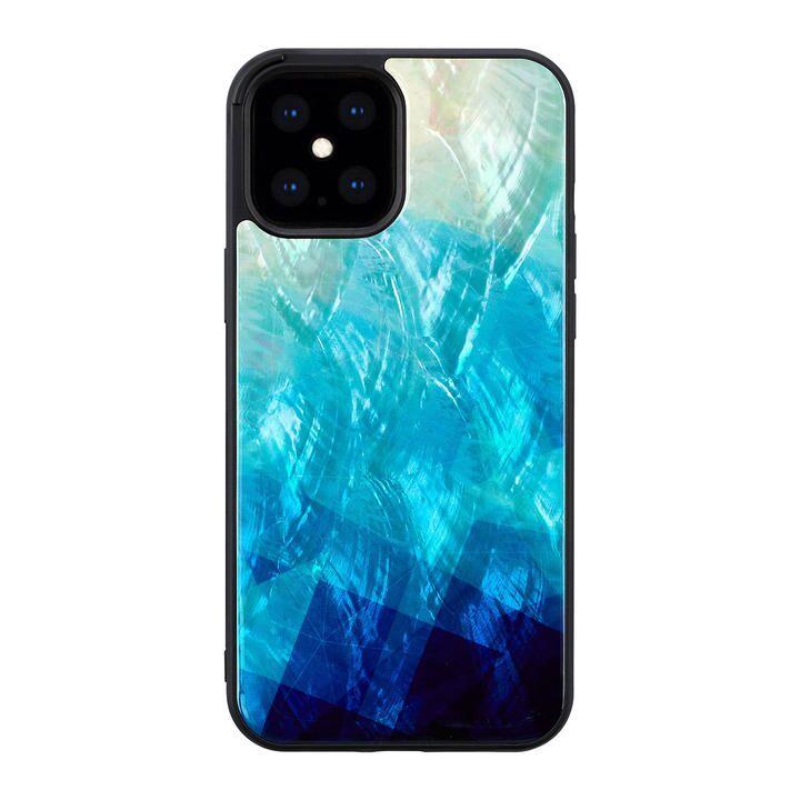 ikins 天然貝ケース Blue Lake iPhone 12 Pro Max_0