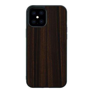iPhone 12 Pro Max (6.7インチ) ケース Man & Wood 天然木ケース Ebony iPhone 12 Pro Max