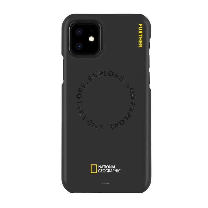 National Geographic Explore Further Edition Slim Fit Case Black  iPhone 12/iPhone 12 Pro【11月下旬】_0